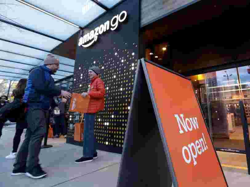 Amazon voudrait ouvrir 3000 épiceries sans caisse pour devenir l'une des plus grandes chaînes de magasins de proximité aux Etats-Unis