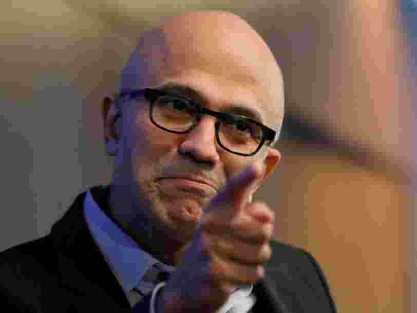Microsoft dépasse la capitalisation boursière d'Alphabet pour la première fois en 3 ans et la course s'intensifie pour devenir le premier groupe valorisé 1000 Mds$
