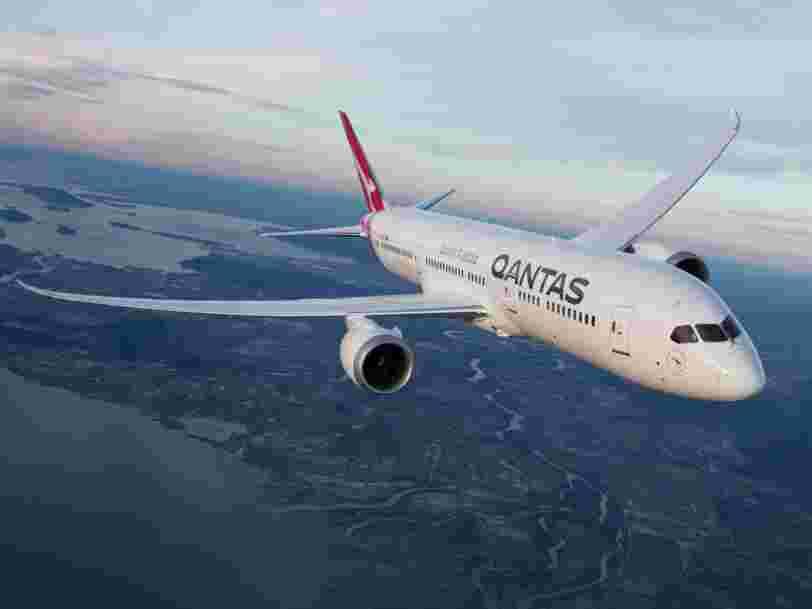 La compagnie Qantas va tester des vols de 19h sans escale pour relier Sydney à Londres ou New York