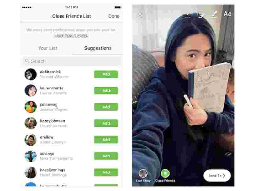 Instagram s'inspire à nouveau de Snapchat pour créer Threads, une appli qui propose notamment de partager sa position avec ses amis