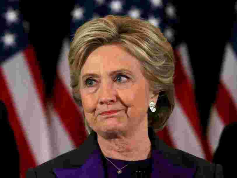 Hillary Clinton: Voici le faux pas de ma campagne que je regrette le plus