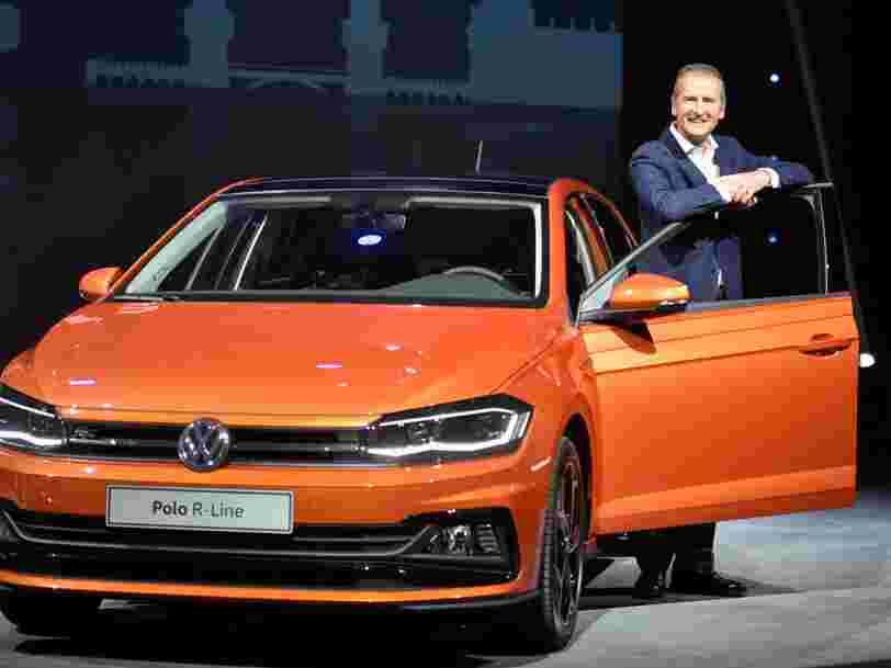 Le nouveau patron du constructeur automobile allemand à l'origine du Dieselgate est un 'joueur de poker' qui sait soutirer des informations