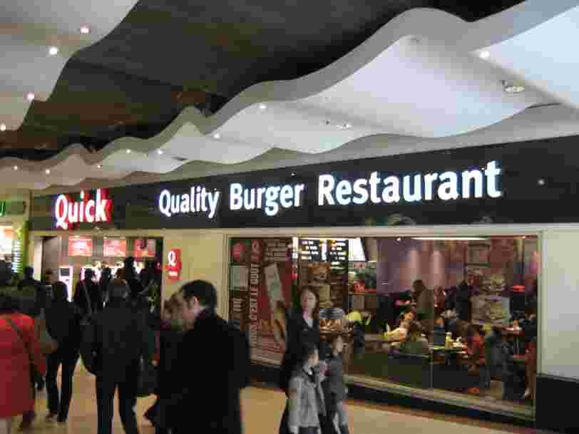 Le premier Quick de France, ouvert en 1980, va fermer ses portes