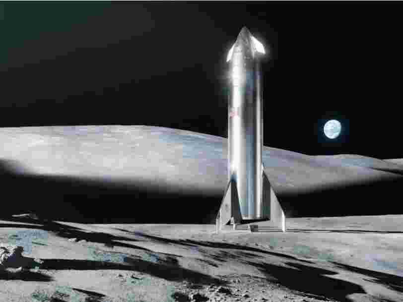 SpaceX et Blue Origin remportent des contrats avec la NASA pour aider à un retour sur la Lune
