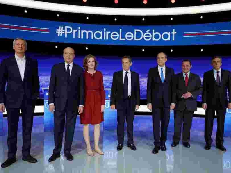 Les déclarations les plus marquantes du premier débat de la primaire de la droite