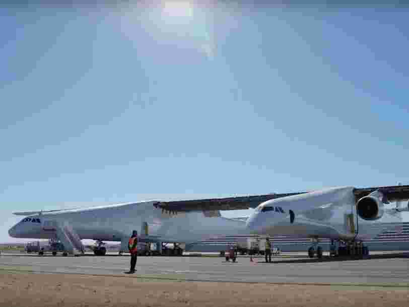 Découvrez le Stratolaunch, le plus grand avion du monde, qui a volé pour la première fois
