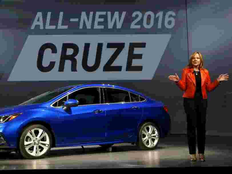 General Motors va arrêter de construire des voitures dans 3 usines en Amérique du Nord et réduire ses effectifs de 15 % en 2019 à cause des voitures électriques et autonomes