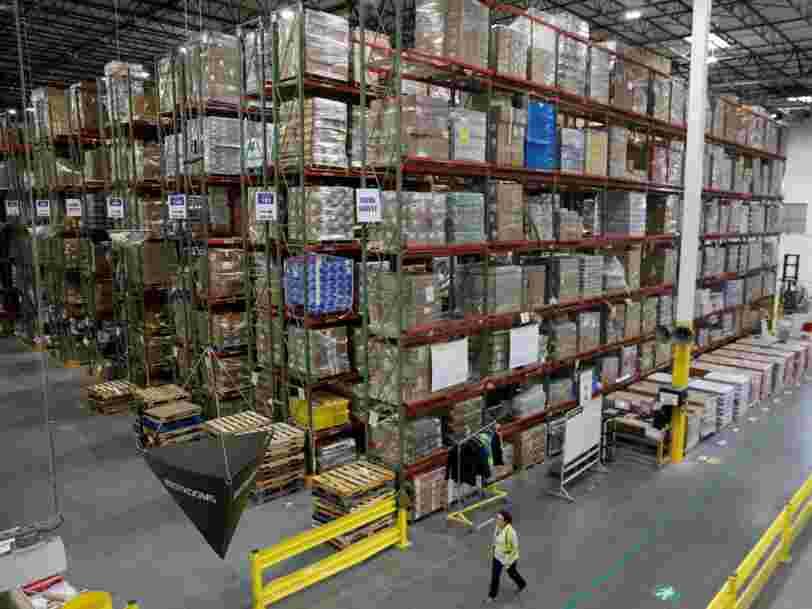Amazon va créer 1 800 emplois en France dans ses 20 sites