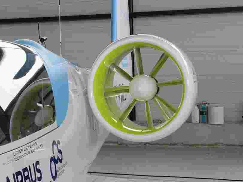 Airbus abandonne son projet d'avion 100% électrique mais les 6 ans de R&D ne sont pas perdues