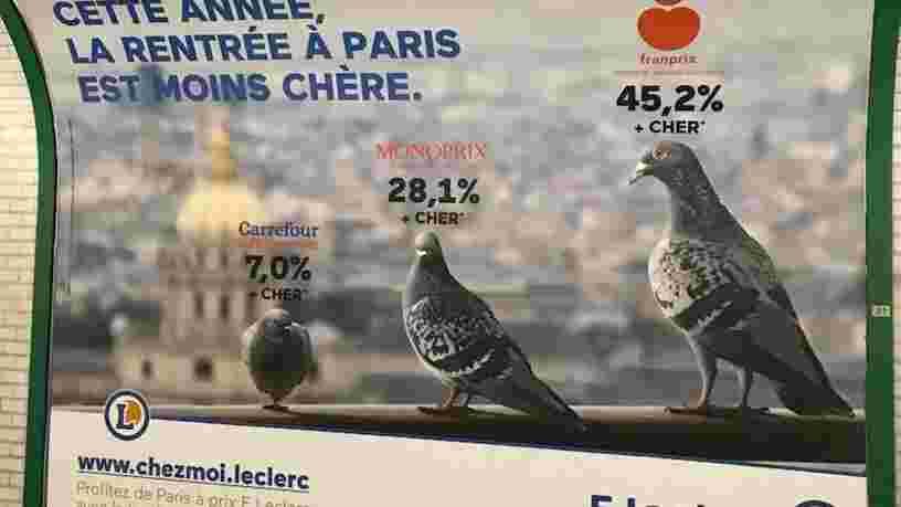 Le tribunal de commerce de Paris confirme que Monoprix n'est pas un pigeon