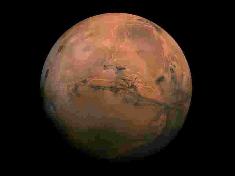 Le lever du soleil sur Mars émet un son étrange — et les scientifiques l'ont enregistré