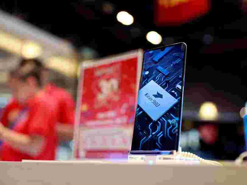 Huawei aurait stocké assez de composants pour tenir un an