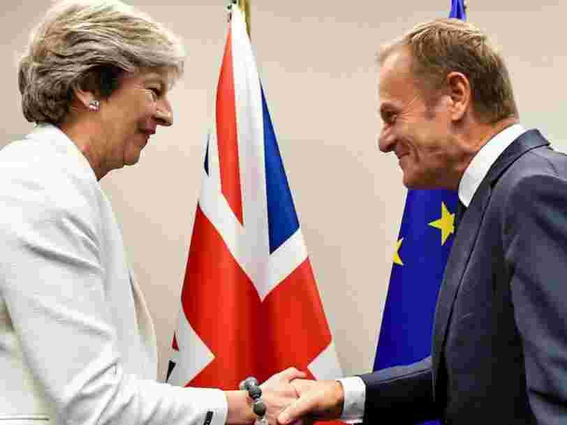 Le président du Conseil européen dit que le Brexit peut être stoppé: 'Nos cœurs vous sont toujours ouverts'