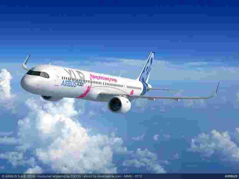 Airbus va lancer un nouvel avion baptisé A321XLR, capable de parcourir plus de 8000 km