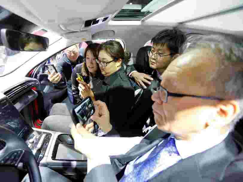 La voiture personnelle recule dans les villes chinoises — et l'un des industriels menacés a peut-être trouvé un plan B