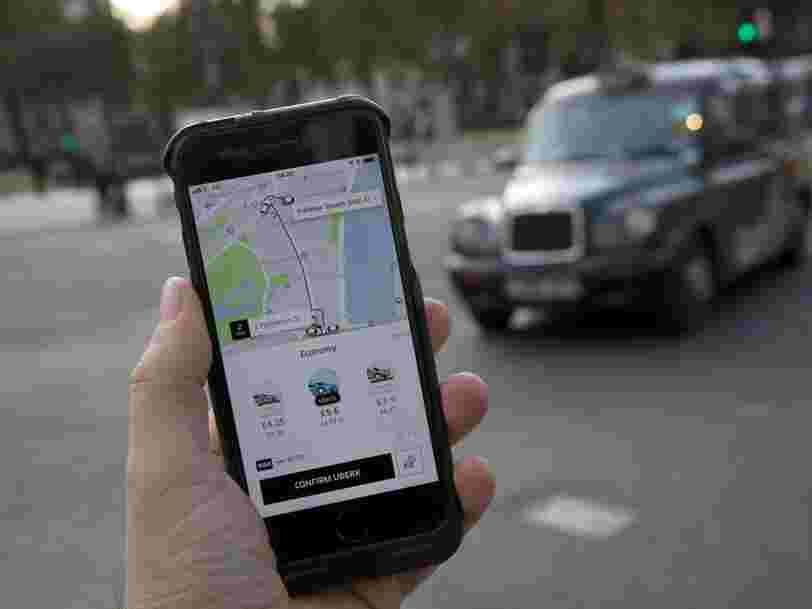 Uber dit avoir perdu un quart de ses chauffeurs rien qu'à Paris à cause de la loi Grandguillaume et les taxis en profitent