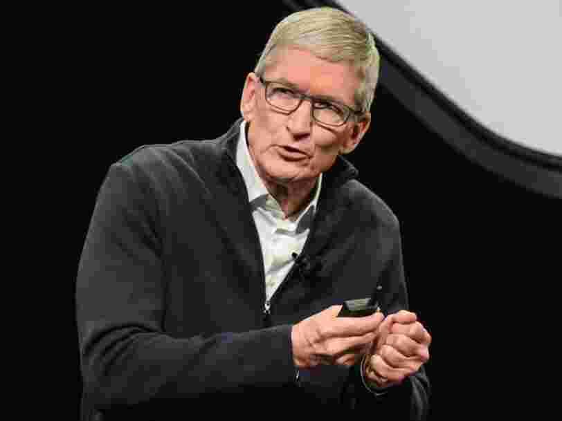 Les remplacements de batterie d'iPhone à prix cassé d'Apple ont eu beaucoup de succès — 10 fois plus de personnes ont remplacé leur batterie qu'en temps normal