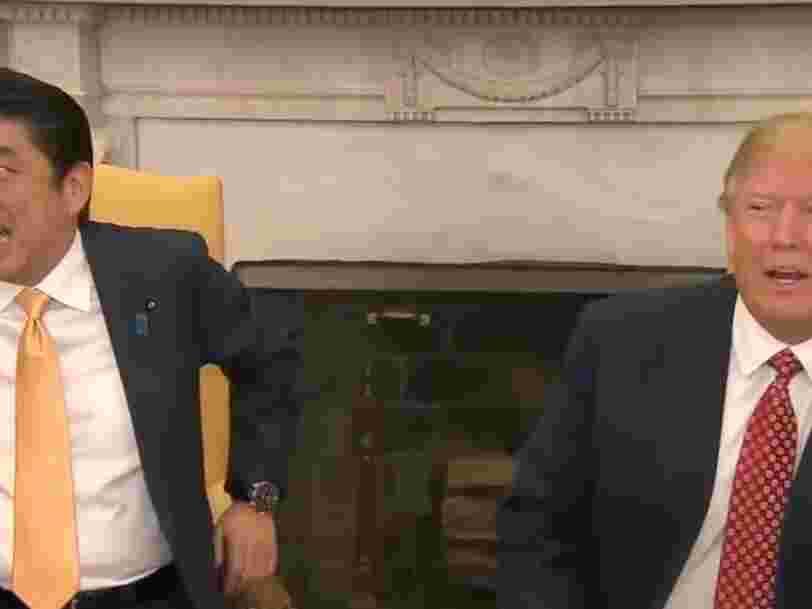 Voici pourquoi la visite d'Emmanuel Macron à Washington est inédite même si Donald Trump a déjà reçu d'autres dirigeants étrangers avant lui