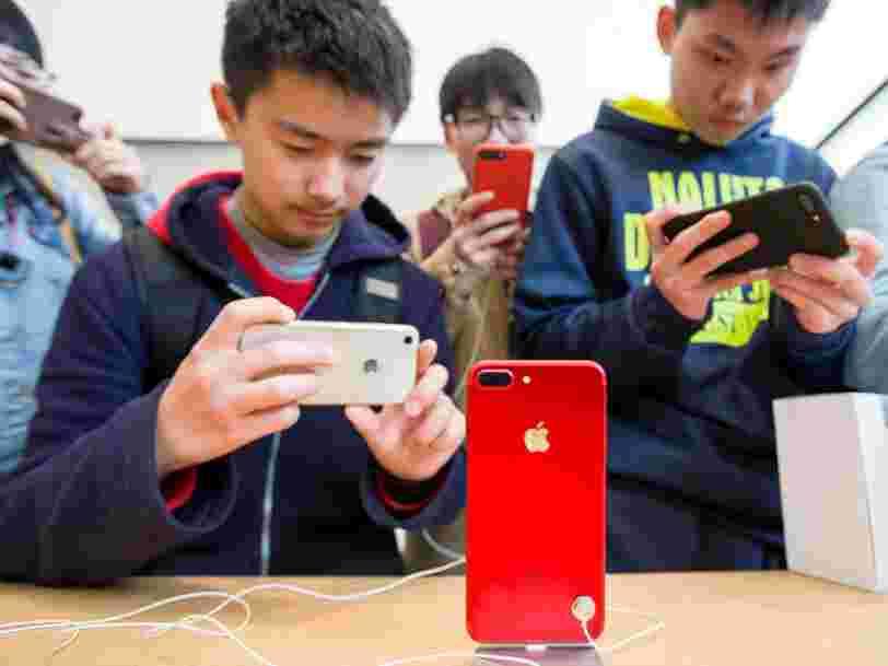 Apple a reculé en Bourse après des résultats décevants et des prévisions modestes