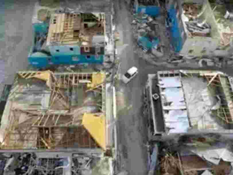 Ces images filmées par drone donnent un aperçu des dégâts à Saint-Martin après le passage du cyclone Irma