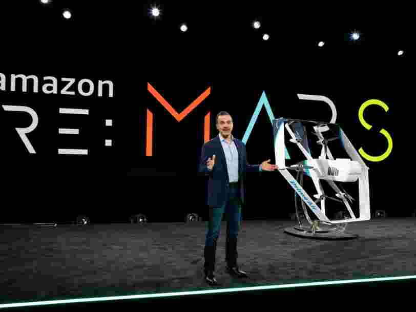 Amazon affirme qu'il pourra assurer des livraisons par drone 'dans les mois à venir'