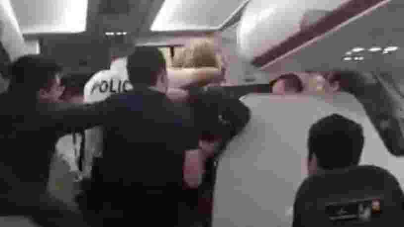 EasyJet demande des poursuites après un violent incident à bord d'un avion au départ de Roissy — une vidéo montre un passager plaqué au sol et menotté par la police
