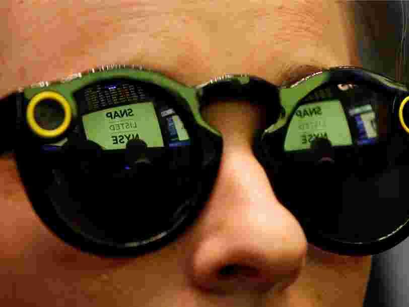 Snap Inc. aurait surestimé la demande pour ses Spectacles — il y en aurait des 'centaines de milliers' dans ses entrepôts