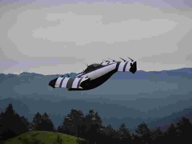 Le cofondateur de Google Larry Page a soutenu une autre folle startup de 'voiture volante' appelée BlackFly