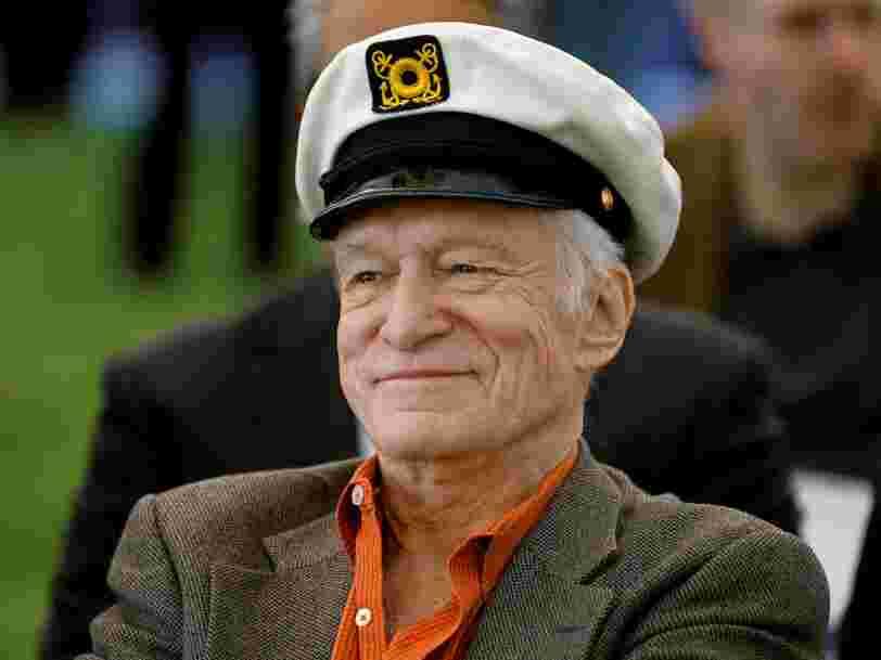 Le fondateur de Playboy,HughHefner, est mort à 91 ans