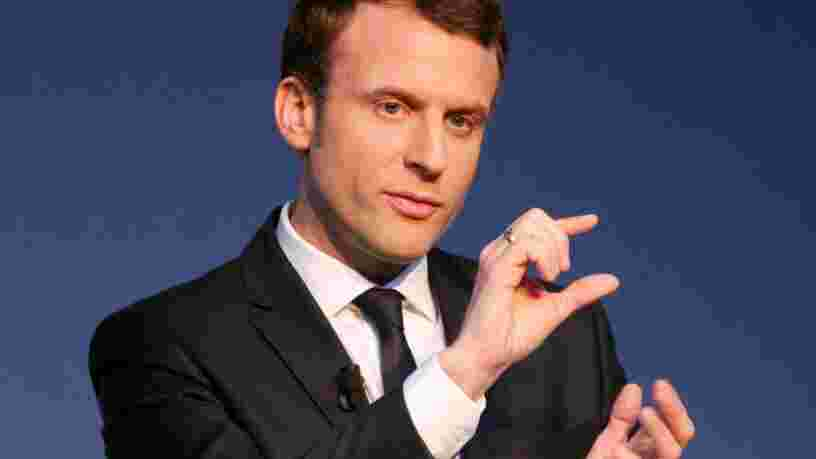Emmanuel Macron promet 10Mds€ pour financer 'l'industrie du futur' et sait déjà comment il financera ce fonds