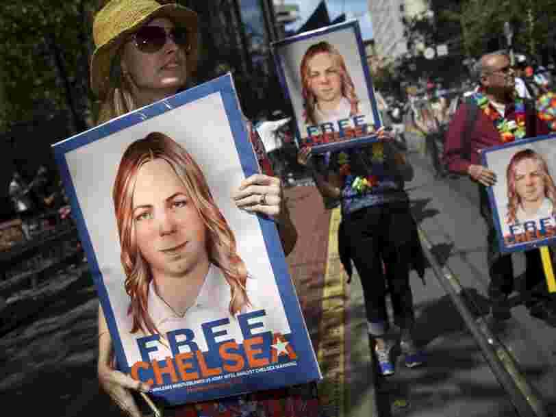 Obama commue la peine de la lanceuse d'alerte Chelsea Manning — elle sera libre dans 5 mois