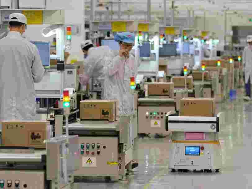 Huawei ralentit sa production après son placement sur liste noire américaine