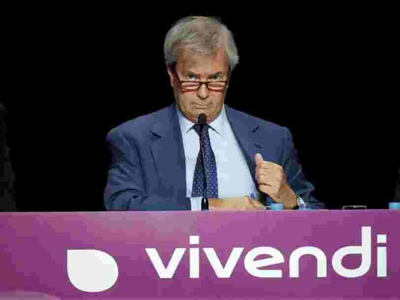Vincent Bolloré dépense 1,3Mds€ dans Vivendi pour être plus puissant — et dit à ses salariés 'de ne pas avoir peur'