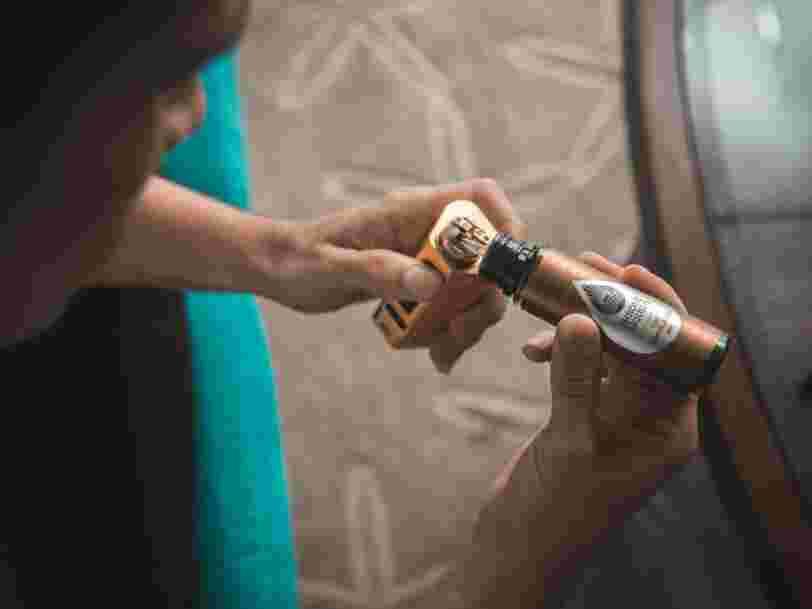 Les cigarettes électroniques parfumées pourraient être mauvaises pour le coeur, surtout celles au menthol