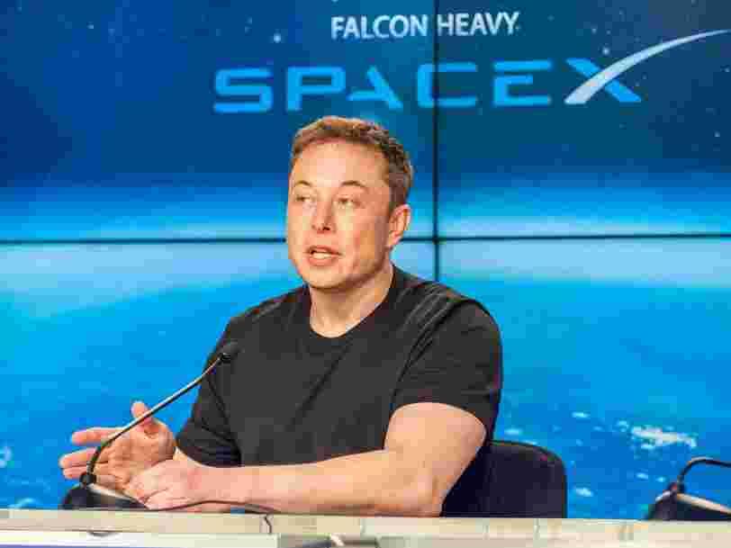 SpaceX et Elon Musk cherchent à lever 507M$ pour poursuivre leurs ambitions spatiales vers Mars