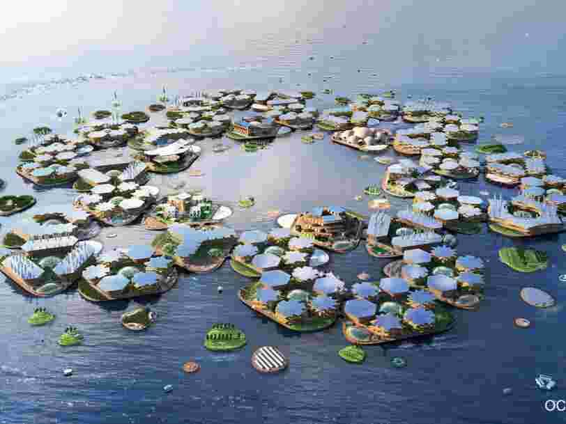 L'ONU dévoile un projet de ville flottante qui résiste aux ouragans