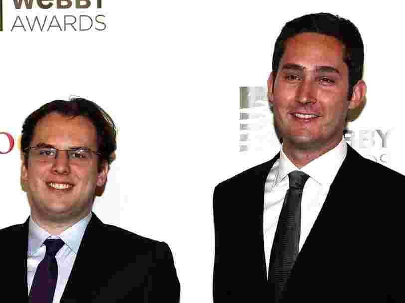 Les 2 co-fondateurs d'Instagram démissionnent, vraisemblablement après des 'tensions' avec Mark Zuckerberg