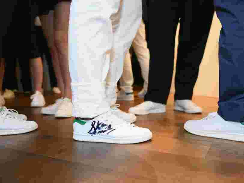 Le DG d'Adidas avoue que la mode n'est plus aux Stan Smith et Superstar, il mise sur sa collaboration avec Kanye West