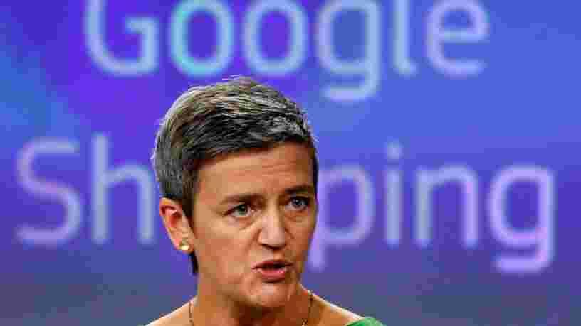 Bruxelles inflige une amende de 2,42 Mds€ à Google pour abus de position dominante