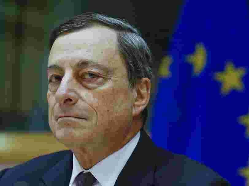 Mario Draghi tacle l'équipe de Donald Trump sur la manipulation des devises