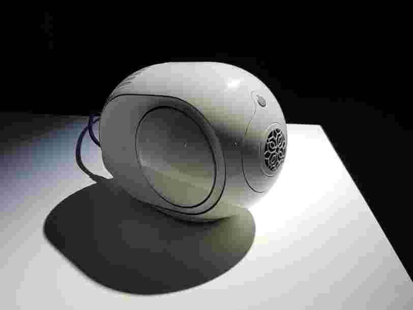 Devialet lance une nouvelle enceinte à moins de 1000 € pour 'rendre le son le plus pur accessible au plus grand monde'
