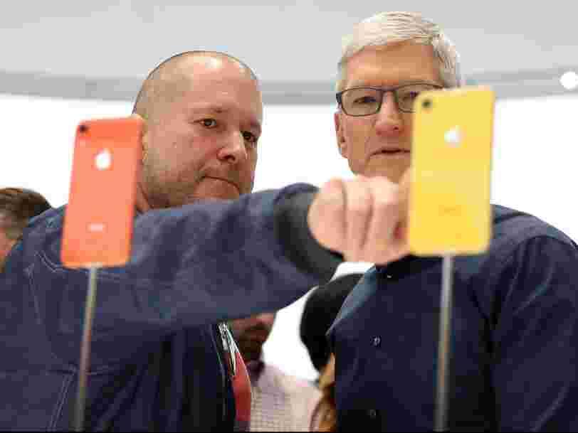 Jony Ive : voici les créations les plus emblématiques du designer d'Apple, de l'iMac coloré à l'iPhone