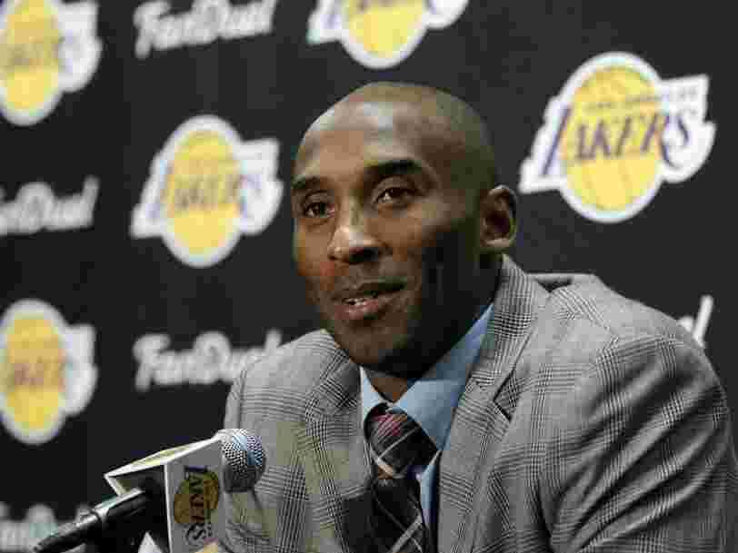 L'investisseur milliardaire Chris Sacca raconte une incroyable histoire à propos de l'obsession de Kobe Bryant à devenir investisseur à succès