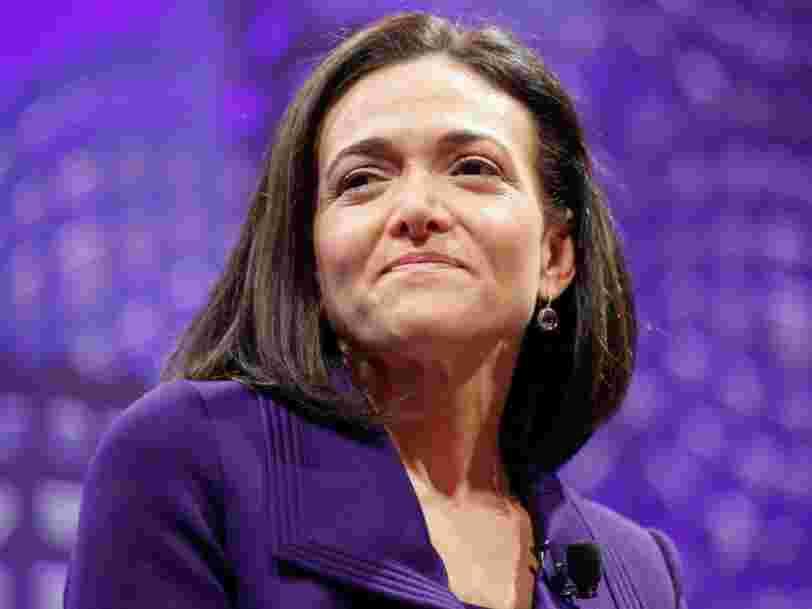 Elon Musk a une fois tenté de débaucher Sheryl Sandberg de Facebook pour alléger sa charge de travail 'insoutenable'