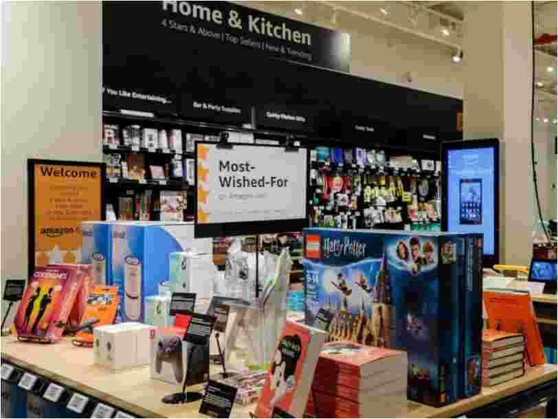 Amazon ouvre une nouvelle boutique qui vend seulement ses meilleurs produits