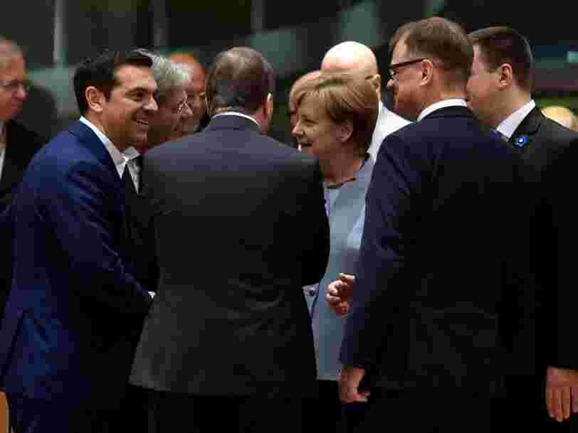 La Grèce vient de conclure un accord important avec l'UE et le FMI