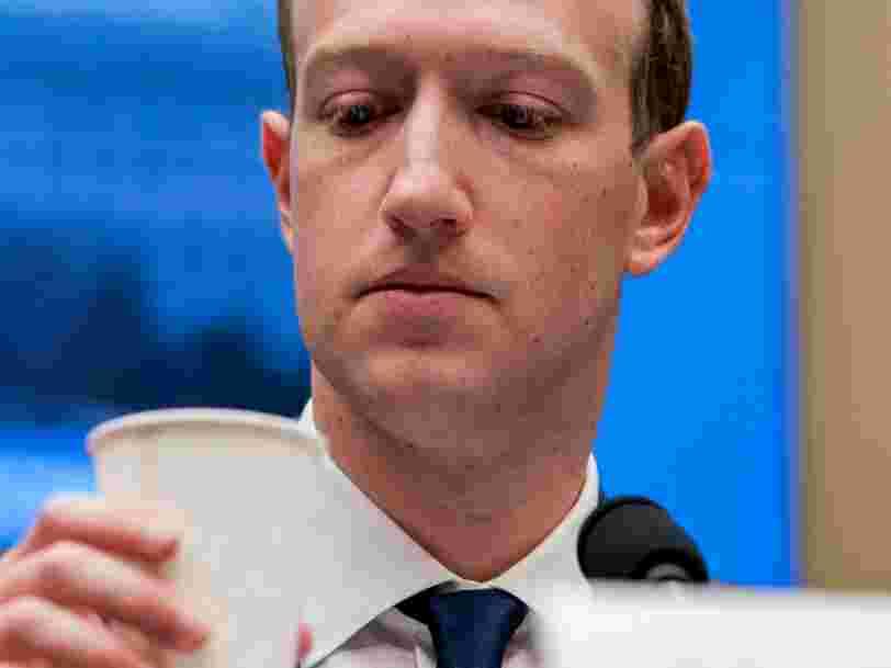 Facebook a malencontreusement supprimé les anciens posts de Mark Zuckerberg