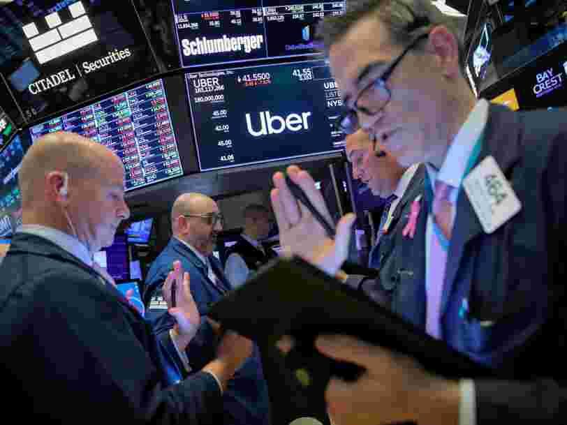 3 raisons qui peuvent expliquer les débuts catastrophiques d'Uber en Bourse