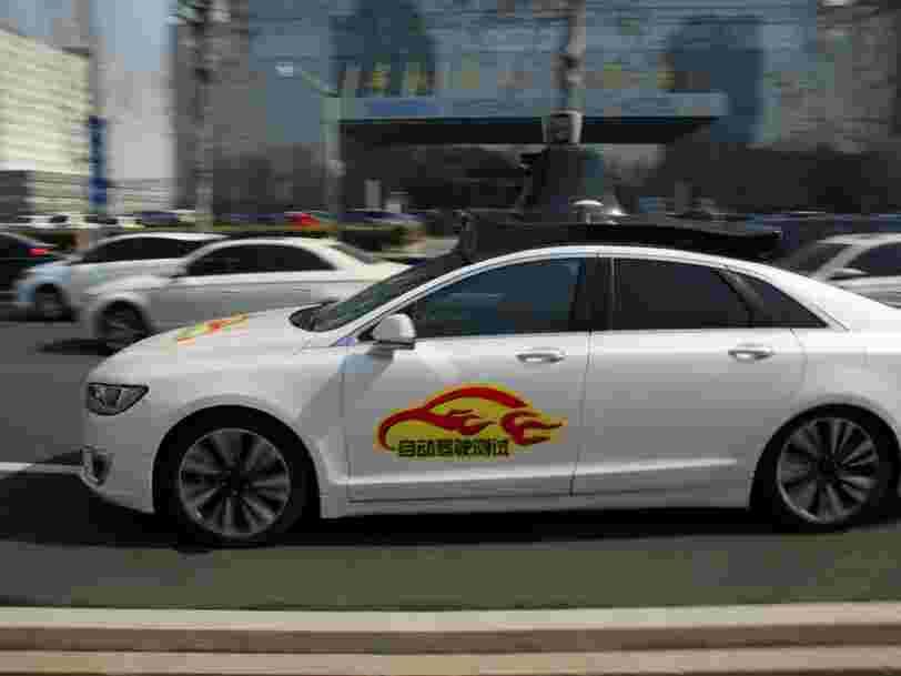 Baidu obtient de Pékin la permission de faire rouler ses voitures sans conducteur sur 100 kilomètres quelques jours après l'accident mortel d'Uber aux Etats-Unis