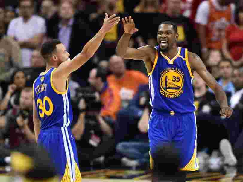 Les Golden State Warriors pourraient perdre beaucoup s'ils gagnent trop vite la NBA